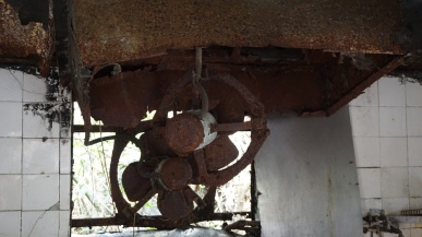 Rusted fans